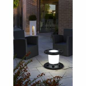 LineaLight REELY OUT 7673 Asztali lámpa antracit műanyag