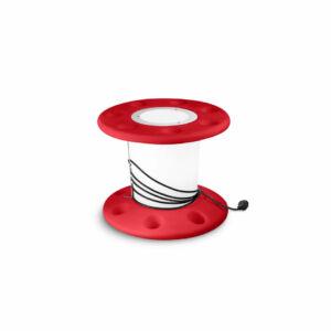 LineaLight 7675 Asztali lámpa REELY OUT piros műanyag