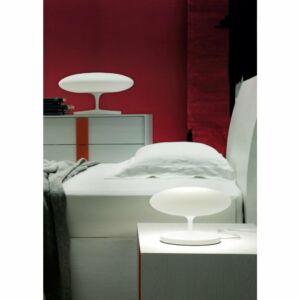 LineaLight SQUASH 7947 Asztali lámpa fehér LED 19W ø50x30cm