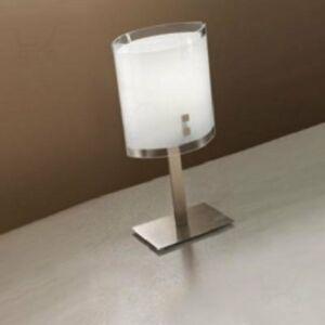 LineaLight MILLE 1007 Asztali lámpa szatinált nikkel fém