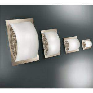 LineaLight MET WALLY 539NS881 Mennyezeti lámpa szatinált nikkel 2xE27 max. 52W 33x25x9 cm