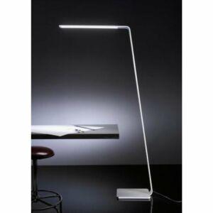 Ma&De 7100 Állólámpa LAMA fehér alumínium