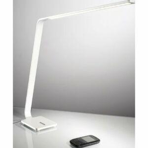 Ma&De 7112 Ledes asztali lámpa LAMA fehér alumínium