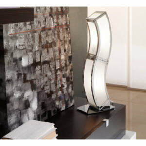 Mantra DUNA 0396 Asztali lámpa króm 2xE27 max. 13 W 17x48x12 cm