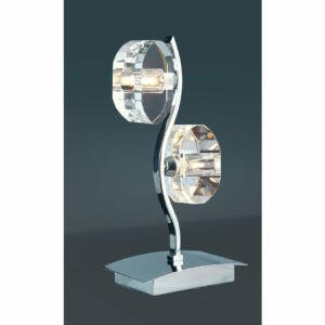 Mantra ALFA 0427 Asztali lámpa króm 2xG9 max. 33 W 16x34 cm