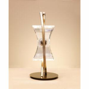 Mantra KROM 0875 Asztali lámpa sárgaréz 1xG9 max. 33 W 12x27 cm