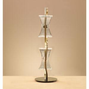 Mantra 0876 Asztali lámpa KROM sárgaréz fém