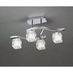 Mantra CUADRAX 0957 Mennyezeti lámpa króm fém