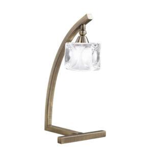Mantra 0994 Asztali lámpa CUADRAX sárgaréz fém