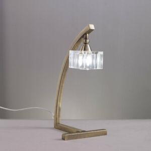 Mantra 1104 Asztali lámpa CUADRAX sárgaréz fém