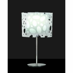 Mantra MOON 1367 Asztali lámpa fehér 1xE27 max. 20W Ø25x52cm