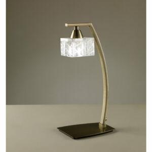 Mantra ZEN 1437 Asztali lámpa sárgaréz 1xG9 max. 33 W 11.5x14x30.8 cm