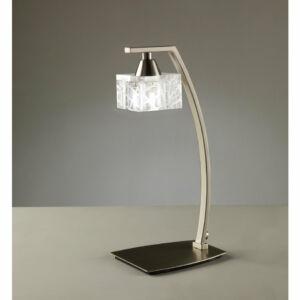 Mantra ZEN 1447 Asztali lámpa szatinált nikkel 1xG9 max. 33 W 11.5x14x30.8 cm