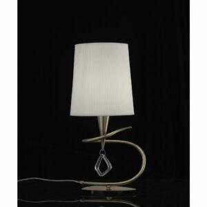 Mantra MARA 1629 Asztali lámpa antik réz 1xE14 max. 20W 18x37 cm