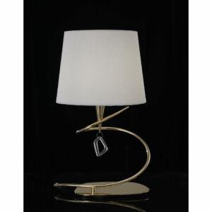 Mantra 1630 Asztali lámpa MARA antik réz fém