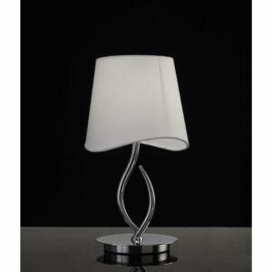 Mantra NINETTE 1905 Asztali lámpa króm 1xE14 max. 20W Ø20x37,3 cm
