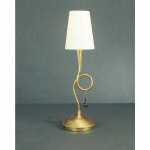 Mantra 3545 Asztali lámpa PAOLA arany fém