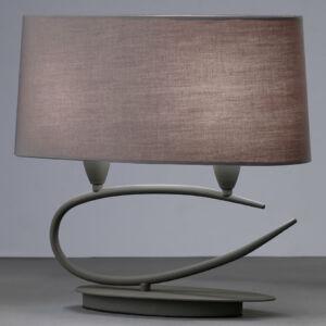 Mantra LUA 3683 Asztali lámpa sötétszürke 2xE27 max. 13W 18x40x38cm