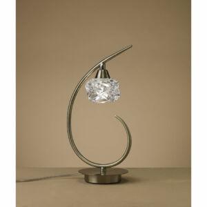 Mantra 4079 Asztali lámpa MAREMAGNUM antik réz fém