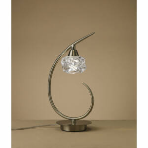 Mantra MAREMAGNUM 4079 Asztali lámpa antik réz fém