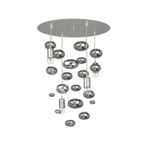 Nowodvorski Salva G TL-6845 Fürdőszoba mennyezeti lámpa ezüst króm 4 x E27 max. 60W 50 x 50 x 70 cm