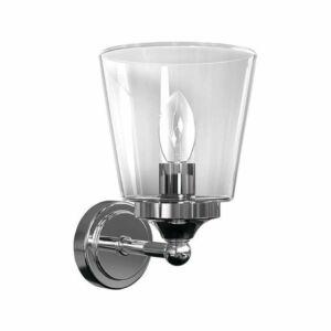 Nowodvorski Bali TL-9353 Fürdőszoba fali lámpa króm átlátszó 1 x E14 max. 25W