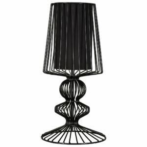 Nowodvorski 5411 Asztali lámpa Aveiro fekete fekete fém