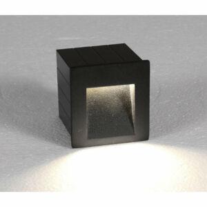 Nowodvorski STEP LED TL-6907 Kültéri fali LED lámpa grafit LED 3W 7x6,5cm