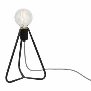 Nowodvorski 6975 Éjjeli asztali lámpa Simple fekete fém