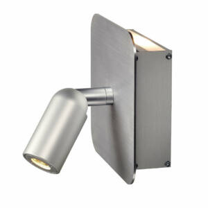 SLV NAPIA 155104 Falikar alumínium LED 2x1W 13x13x8,6cm
