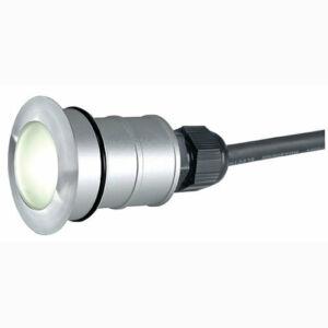 SLV TRAIL-LITE 228332 Kültéri beépíthető lámpa ezüst 1xPower LED max. 1 W 9x3,9 cm
