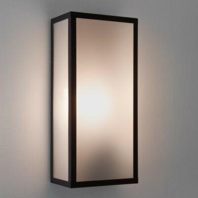Astro Messina 1183004 fürdőszoba fali lámpa fekete opál fém üveg