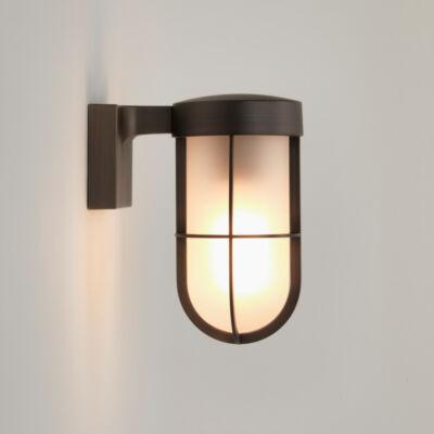 Astro Cabin 1368026 fürdőszoba fali lámpa bronz opál fém üveg