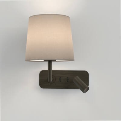 Astro Side by Side 1406004 fali olvasólámpa bronz