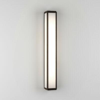 Astro Mashiko 600 LED 1121058 fürdőszoba fali lámpa bronz fehér fém üveg