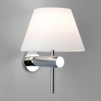 Astro Roma 1050001 fürdőszoba fali lámpa króm fehér fém