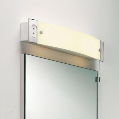 Astro Shaver Light 1022001 fürdőszoba fali lámpa ezüst fehér króm műanyag