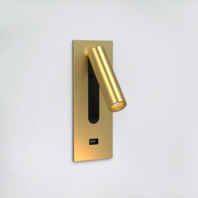 Astro Fuse 3 USB 1215103 fali olvasólámpa matt arany