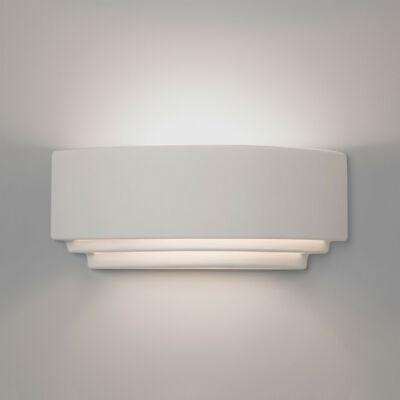 Astro Amalfi 1079004 gipsz fali lámpa fehér kerámia