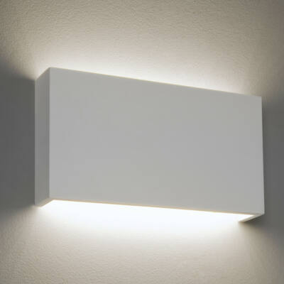 Astro 1325005 gipsz fali lámpa  fehér   gipsz