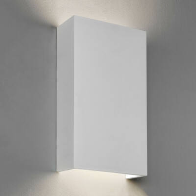 Astro Rio 1325006 gipsz fali lámpa  fehér   gipsz