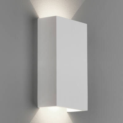 Astro Rio 1325007 gipsz fali lámpa fehér gipsz