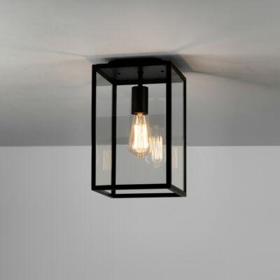 Astro Homefield 1095021 kültéri mennyezeti lámpa fekete átlátszó fém