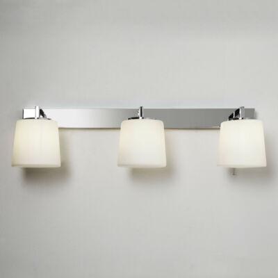 Astro Triplex 1304001 fürdőszoba fali lámpa króm fehér fém