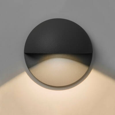 Astro Tivola 1338001 kültéri fali led lámpa fekete fém