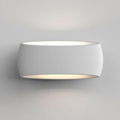 Astro Aria 1300002 gipsz fali lámpa  fehér   gipsz
