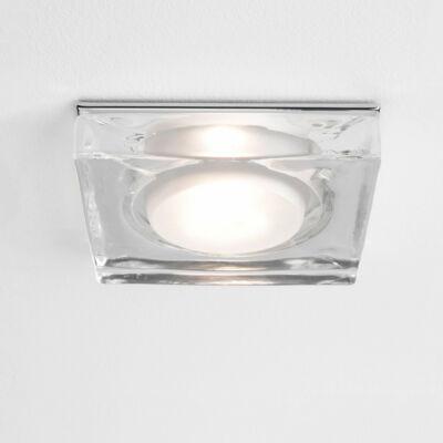 Astro Vancouver 1229004 álmennyezetbe építhető lámpa króm átlátszó fém
