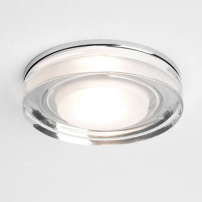 Astro Vancouver 1229003 álmennyezetbe építhető lámpa króm átlátszó fém üveg