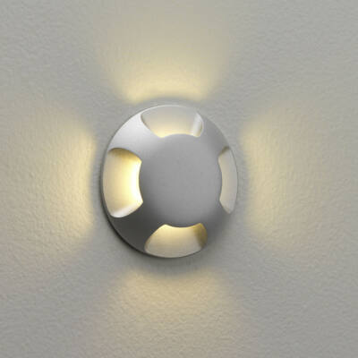 Astro Beam 1202003 talajba süllyeszthető lámpa ezüst fém