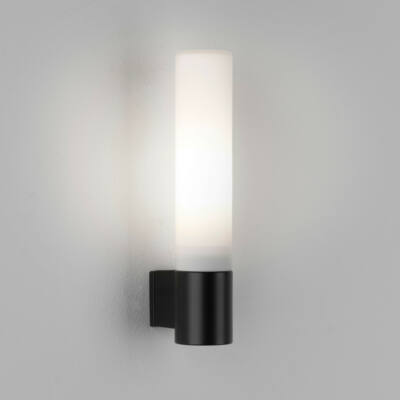 Astro Bari 1047006 fürdőszoba fali lámpa fekete opál fém